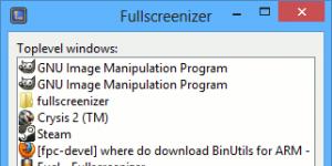 Fullscreenizer