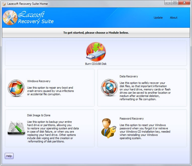 Lazesoft Windows Data Recovery Free 4.0