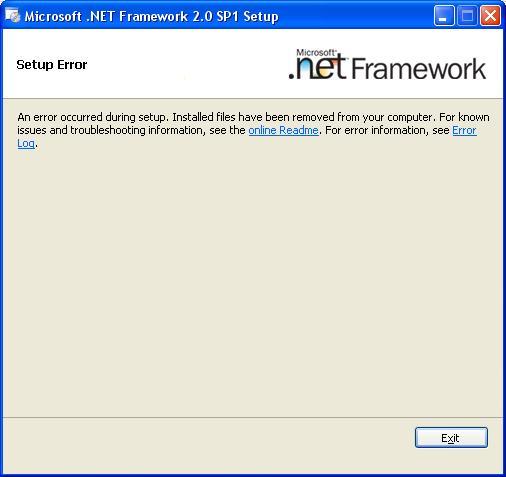 .NET Framework 2.0 SP2
