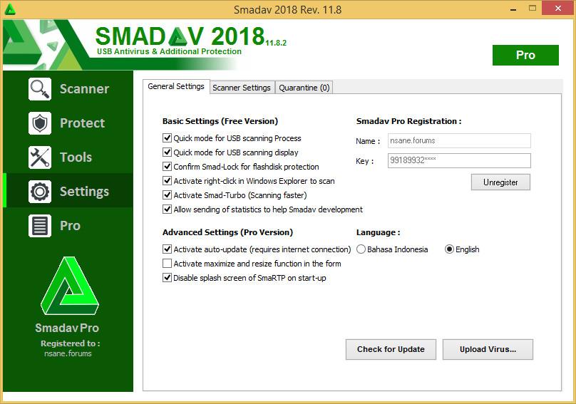 Smadav 2018 Rev. 11.8