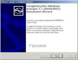 Windows Installer 3.1