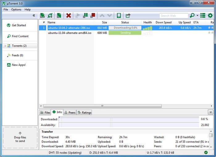 µTorrent 3.5.5.45146